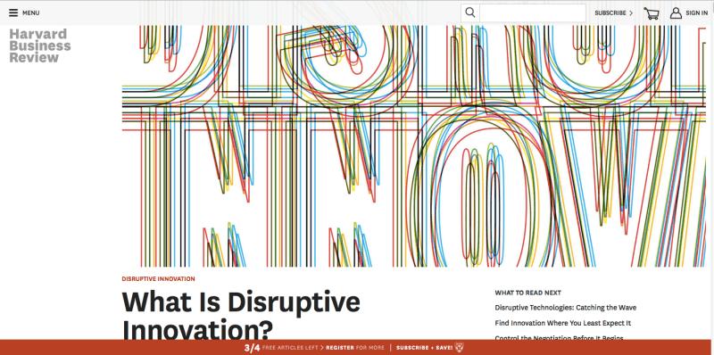 """Wie können Unternehmen """"disruptive Innovation"""" intern abbilden?"""